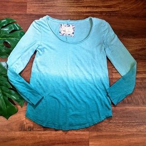 Anthropologie Brand Pure + Good Ombre Top